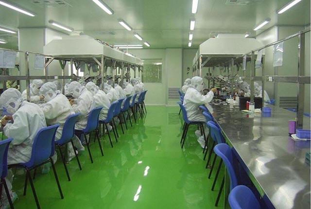 上海嘉定惠亚电子有限公司装修了工厂厂房装修 上海嘉定海湾食品有限